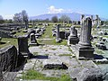 The Forum and the early Christian Basilica B in the background, Philippi (7272776024).jpg