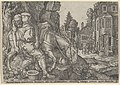 The Good Samaritan Putting the Traveller on His Donkey, from The Parable of the Good Samaritan MET DP836640.jpg