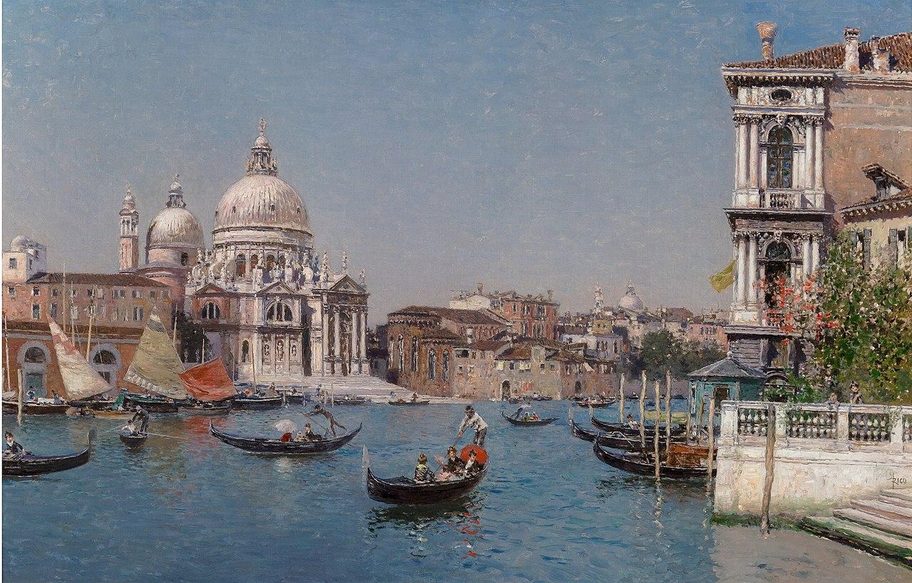 The Grand Canal, Venice by Martín Rico y Ortega, circa 1890.jpg