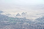 The Great Pyramid of Giza as Seen From Secretary Kerry's Plane as He Travels From Vienna to Cairo (26824771360).jpg