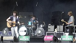 The Kooks beim Hurricane Festival 2006