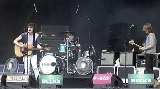 Music of Sussex - The Kooks at the Hurricane Festival, Germany 2006