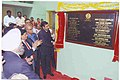 The Minister of State for Information & Broadcasting and External Affairs, Shri Anand Sharma unveiling the plaque after inaugurating the new studio complex of Doordarshan Kendra, at Panaji-Goa on December 19, 2008.jpg