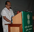The Minister of State of Agriculture, Consumer Affairs, Food & Public Distribution, Prof. K.V. Thomas addressing the National Conference for Kharif Campaign, in New Delhi on March 18, 2010.jpg