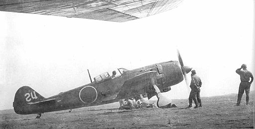The Nakajima Ki-84 Hayate additional prototype of the Army Air Force