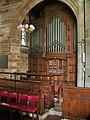 The Parish Church of Broughton St John the Baptist, Organ - geograph.org.uk - 866860.jpg