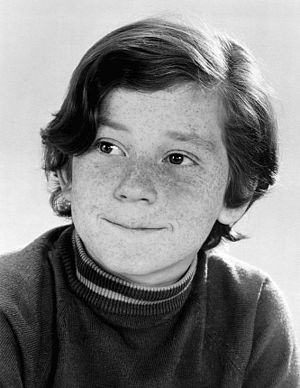 Danny Bonaduce - Bonaduce as Danny Partridge on the comedy series The Partridge Family, 1970