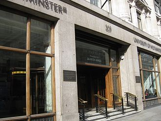 University of Westminster - 309 Regent Street, 2012
