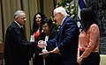 The President, Reuven rivlin, at the swearing-in ceremony held at Beit HaNassi (7457).jpg