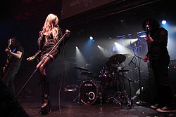 The Pretty Reckless live 2010