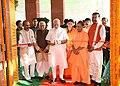 The Prime Minister, Shri Narendra Modi dedicating the Deendayal Hastkala Sankul to the nation, in Varanasi, Uttar Pradesh.jpg