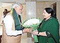 The Prime Minister, Shri Narendra Modi meeting the Chief Minister of Tamil Nadu, Ms. J. Jayalalithaa, in Chennai, Tamil Nadu on August 07, 2015.jpg