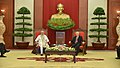 The Prime Minister, Shri Narendra Modi meeting the General Secretary of the Communist Party of Vietnam, Mr. Nguyen Phu Trong, at Communist Party Headquarters, in Hanoi, Vietnam on September 03, 2016 (1).jpg