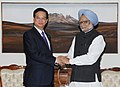 The Prime Minister of Vietnam, Mr. Nguyen Tan Dung meeting the Prime Minister, Dr. Manmohan Singh, in New Delhi on December 21, 2012.jpg