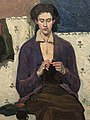 The Sock Knitter By Grace Cossington-Smith .jpg