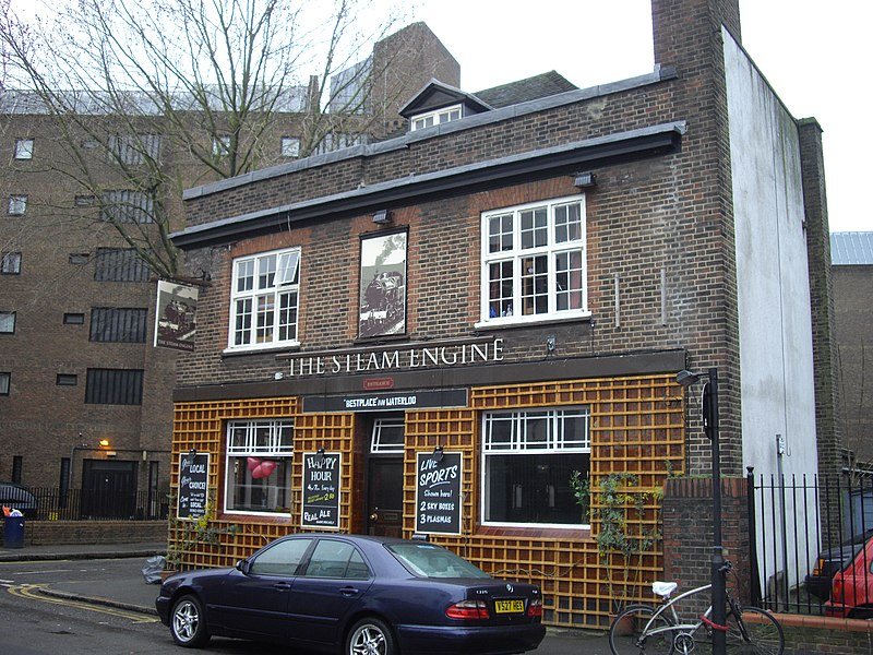 File:The Steam Engine Public House Cosser Street Lambeth - geograph.org.uk - 1707503.jpg