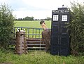 The Tardis visits Wrenbury - geograph.org.uk - 521607.jpg