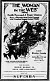 The Woman in the Web - 1918 - newspaper.jpg