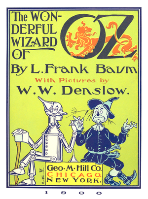 The title page of The Wonderful Wizard of Oz, ...