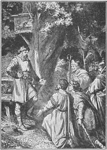 The crown of Germany is offered to Henry the Fowler.jpg