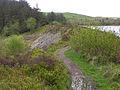 The dam at Llyn Pendam - geograph.org.uk - 1291294.jpg