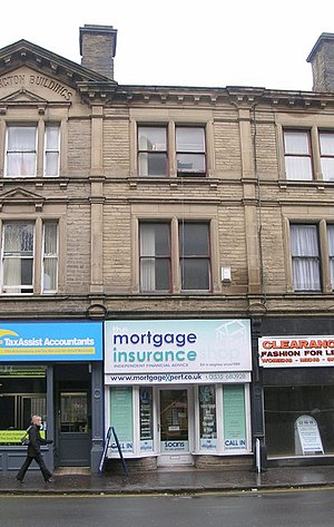 English: the mortgage insurance - North Street