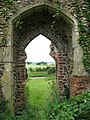 The ruined church of St Mary - south doorway - geograph.org.uk - 1366340.jpg