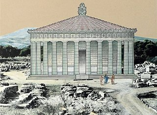 Tholos (architecture) circular temple