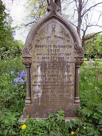 Thomas Crisp - The grave of Thomas Crisp VC in Lowestoft Cemetery