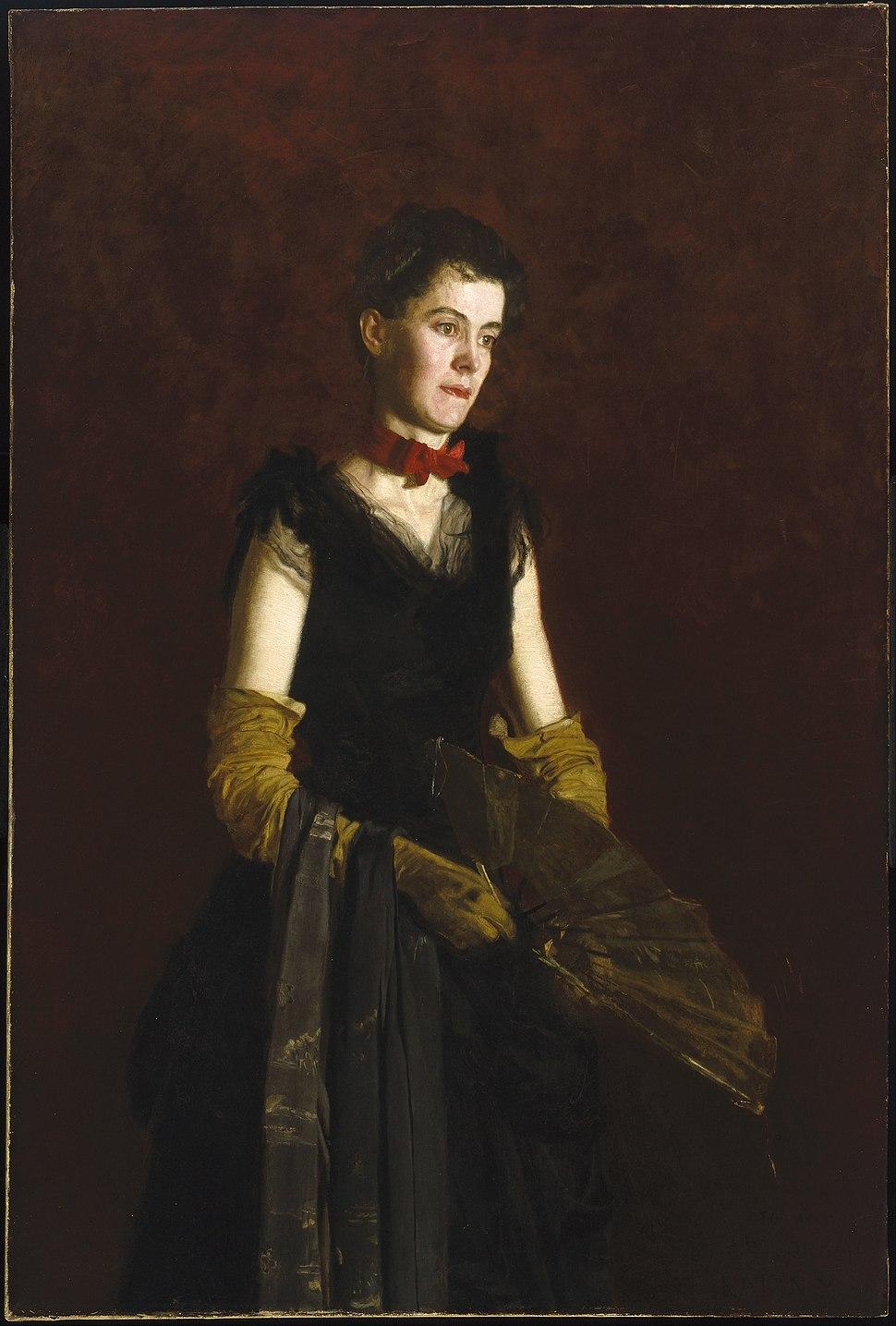 Thomas Eakins - Letitia Wilson Jordan - Google Art Project