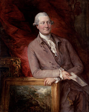 James Christie (auctioneer) - James Christie by Thomas Gainsborough