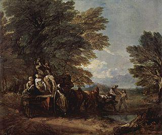 2 paintings by Thomas Gainsborough