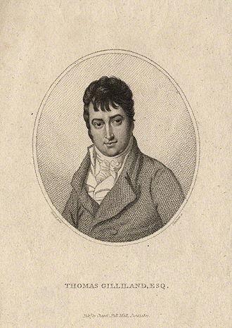 Thomas Cheesman (engraver) - Image: Thomas Gilliland