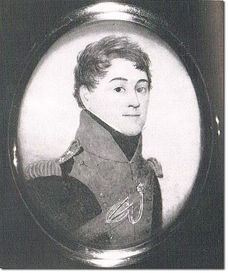 Thomas Hawker (British Army officer) - Portrait of Hawker as Colonel of the 20th Light Dragoons in 1812–13