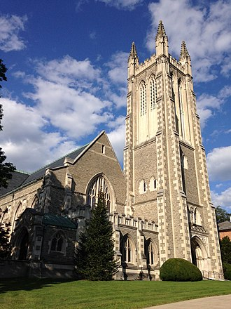 Allen & Collens - Thompson Memorial Chapel, Williams College