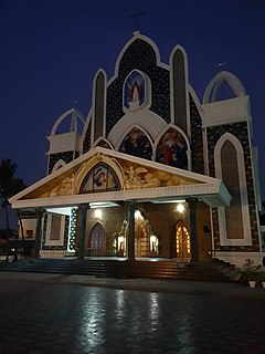 Mary Queen Church, Thoppil Church in Kerala, India