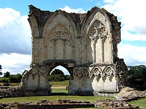 North Lincolnshire - Image: Thornton Abbey Ruins