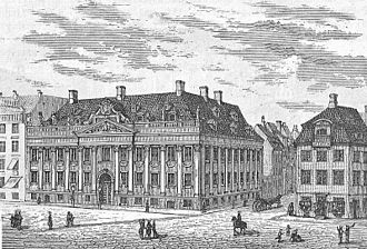 Thott Mansion - The Thott Mansion in c. 1875