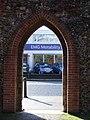 Through The Arch - geograph.org.uk - 1724213.jpg