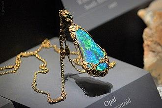 Necklace - Image: Tiffany Opal Necklace