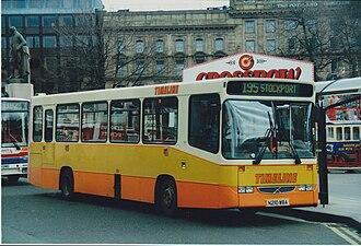Volvo B6 - Timeline Travel Alexander Dash bodied B6 in Manchester