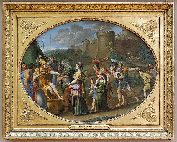 Александр и Тимоклея (Доменикино, около 1615).