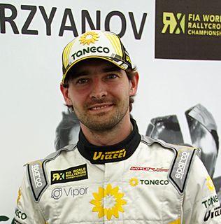 Timur Timerzyanov Russian rallycross driver