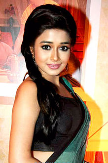 Tina Dutta in Nov 2012 at the success party of TV serial Uttaran (1000 episodes)