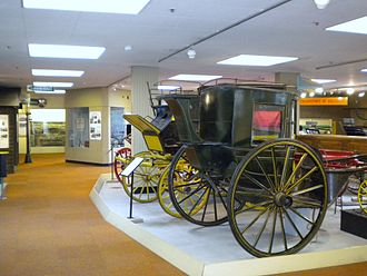Tolson Museum - The transport gallery
