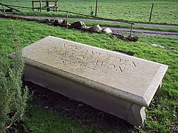 Tomb of Anthony Eden, Earl of Avon 1897-1977 - geograph.org.uk - 314379.jpg