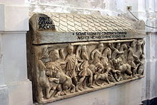 Tomb of Constance of Aragon - Cathedral of Palermo - Italy 2015.JPG