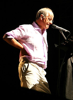 Italien actor and theatre director Toni Servillo