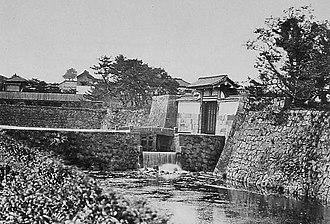 Toranomon - The Toranomon (Tiger Gate), demolished in the 1870s