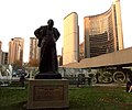 Toronto City Hall and Winston Churchill Monument.JPG